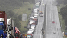 Adesão a greve divide entidades que representam caminhoneiros