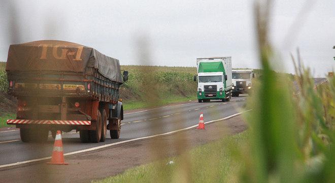 Transporte de produtos do Nordeste para Sudeste é o mais afetado