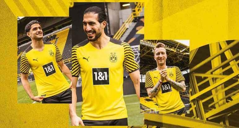 Camisa 1 - Borussia Dortmund -  Alemanha