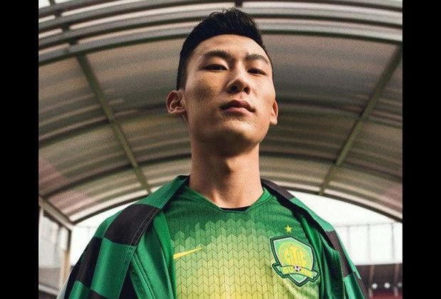 Camisa 1 do Beijing Guoan - Time de Fernando, Renato Augusto e Alan