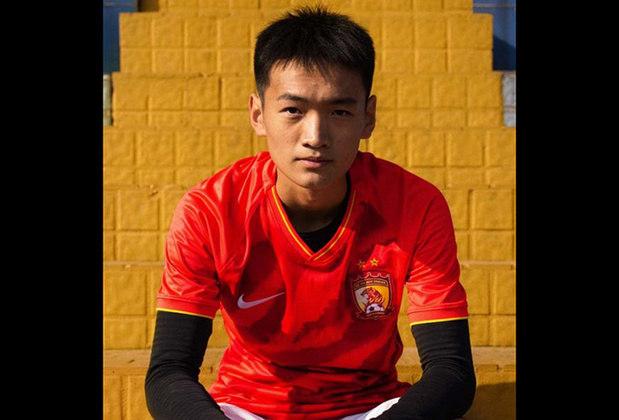 Camisa 1 do Guangzhou Evergrande - Time de Paulinho, Anderson Talisca, Ricardo Goulart, Elkeson e Aloísio - Campeão da Superliga Chinesa 2019