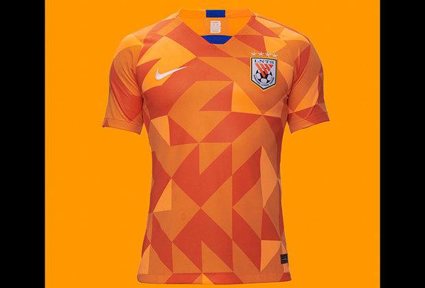 Camisa 1 do Shandong Luneng - Time de Moisés e Roger Guedes