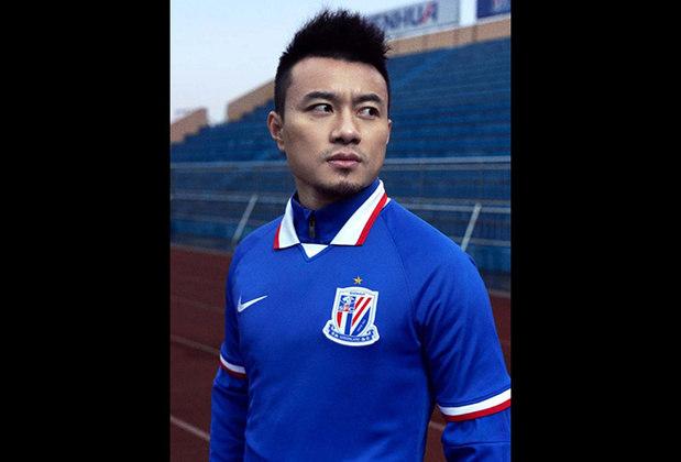 Camisa 1 do Shanghai Greenland Shenhua - Campeão da Copa da China 2019