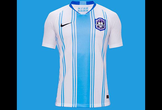 Camisa 1 do Tianjin TEDA