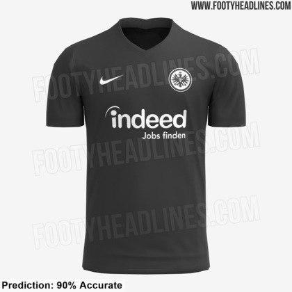 Camisa 1 - Eintracht Frankfurt - Alemanha
