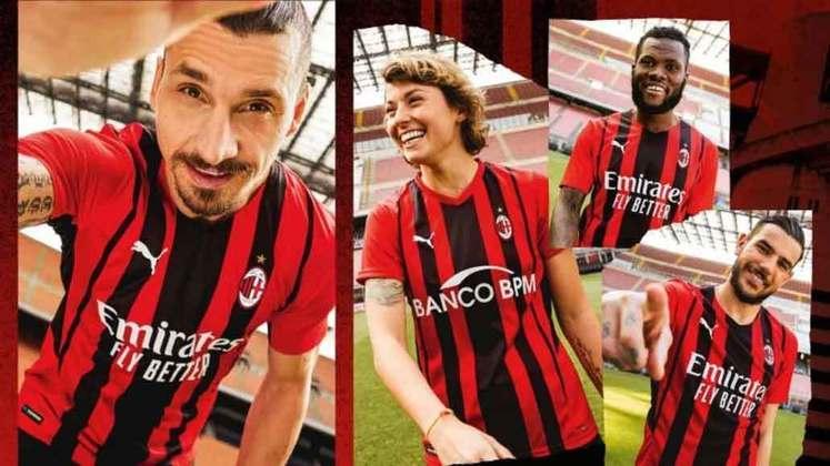 Camisa 1 - Milan - Itália