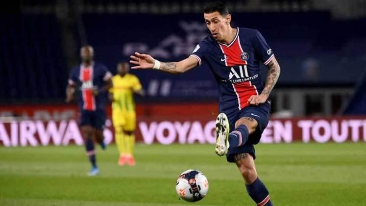 Camisa 11: Ángel Di María (atacante - 33 anos - argentino) - Valor de mercado: 20 milhões de euros (R$ 122,6 milhões)