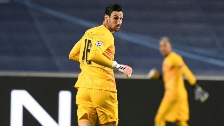 Camisa 16: Sergio Rico (goleiro - 27 anos - espanhol) - Valor de mercado: 7 milhões de euros (R$ 42,9 milhões)