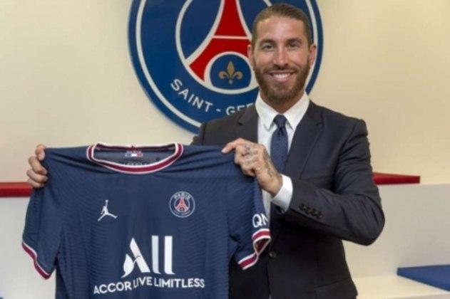 Camisa 4: Sergio Ramos (zagueiro - 34 anos - espanhol) - Valor de mercado: 10 milhões de euros (R$ 61,3 milhões)