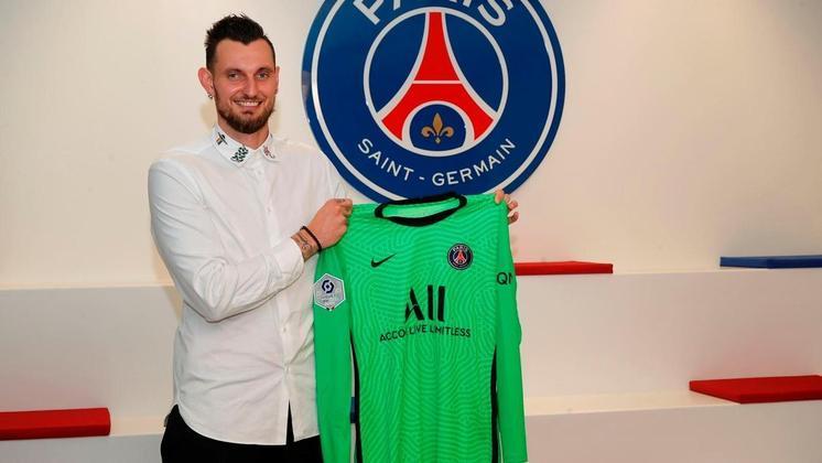 Camisa 40: Alexandre Letellier (goleiro - 30 anos - francês) - Valor de mercado: 400 mil euros (R$ 2,4 milhões)