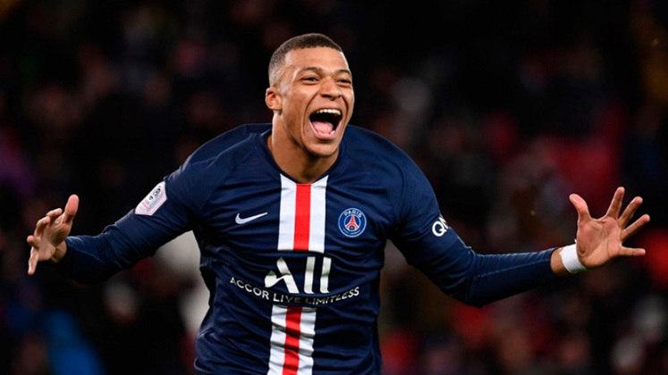 Camisa 7: Kylian Mbappé (atacante - 22 anos - francês) - Valor de mercado: 160 milhões de euros (R$ 980,8 milhões)
