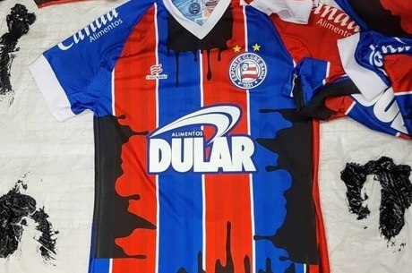 Camisa do Bahia que vai ser usada contra o Ceará