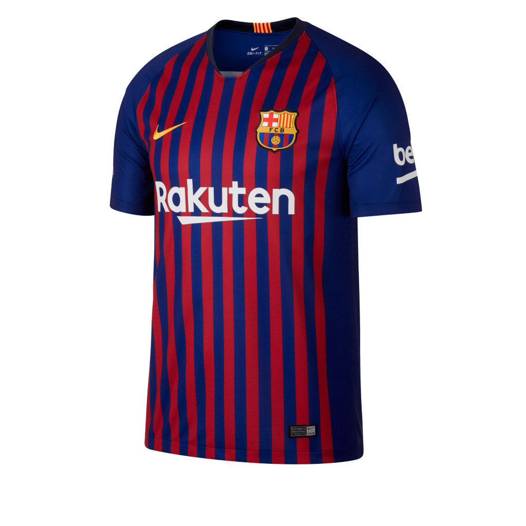 1e44afdf8 ... <b>Barcelona- uniforme principal:</b> Optando pelo clássico ...