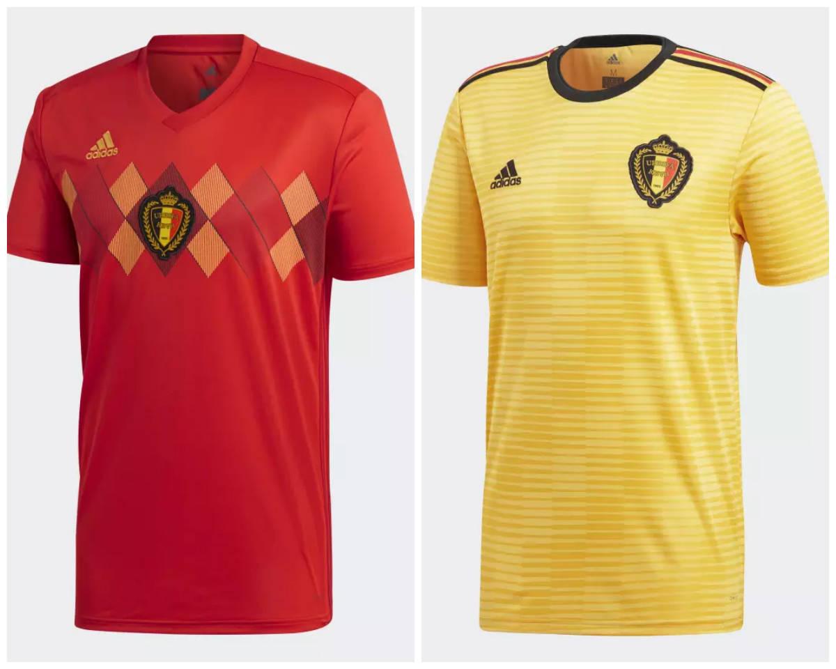 82ecd1185159e ... A fornecedora da Bélgica fez um modelo inspirado na camisa da Euro de  84