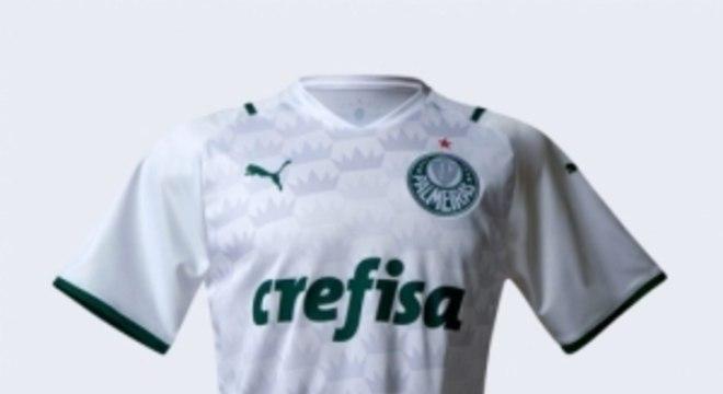 Camisa branca Palmeiras
