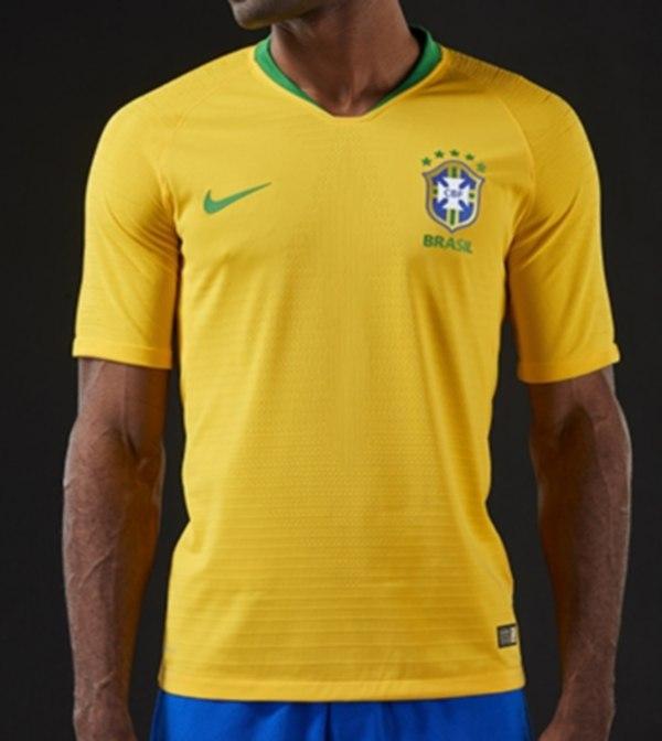 e770e61620 Camisa da seleção brasileira para a Copa de 2018 é divulgada - Fotos - R7  Copa 2018