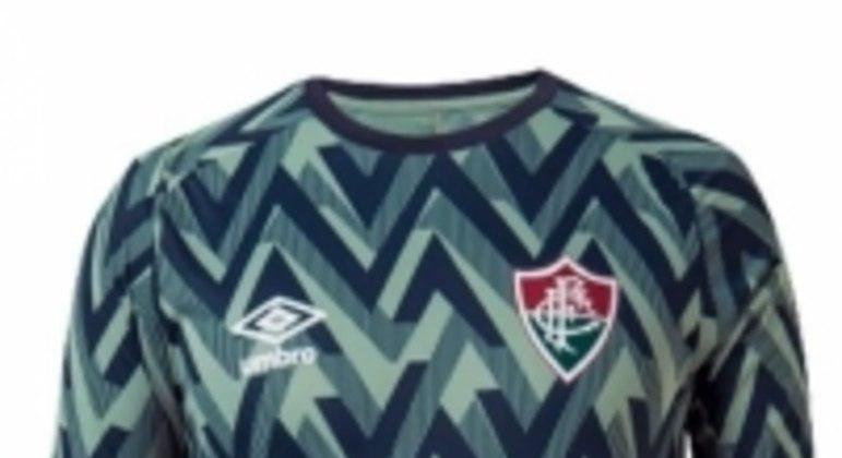 Camisa de aquecimento do Fluminense