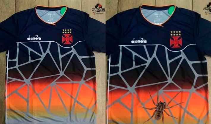 Camisa de treino do Vasco feito pela Diadora (Junho/2018)