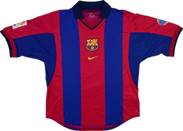 Camisa do Barcelona temporada 2000/2001