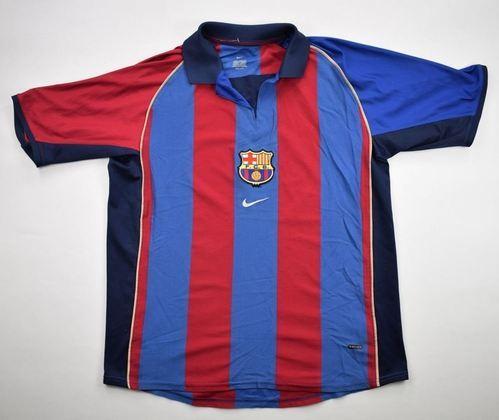 Camisa do Barcelona temporada 2001/2002