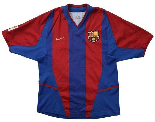 Camisa do Barcelona temporada 2002/2003