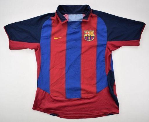 Camisa do Barcelona temporada 2003/2004