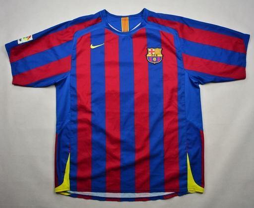 Camisa do Barcelona temporada 2005/2006