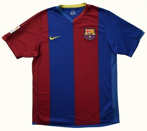 Camisa do Barcelona temporada 2006/2007