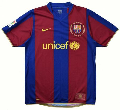 Camisa do Barcelona temporada 2007/2008