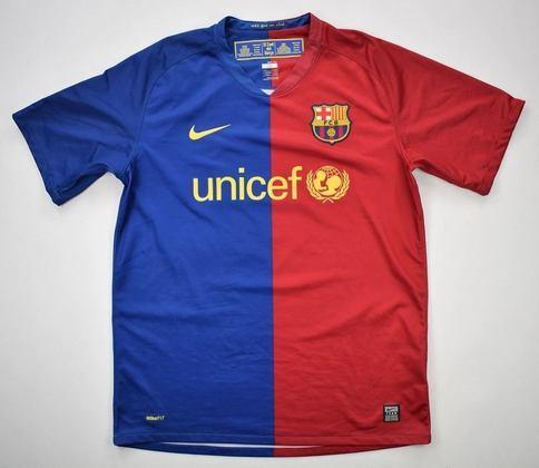 Camisa do Barcelona temporada 2008/2009