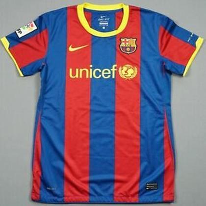 Camisa do Barcelona temporada 2010/2011