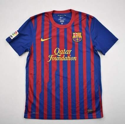 Camisa do Barcelona temporada 2011/2012