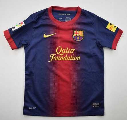 Camisa do Barcelona temporada 2012/2013
