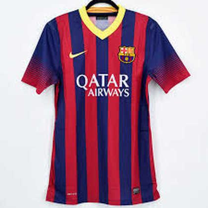 Camisa do Barcelona temporada 2013/2014