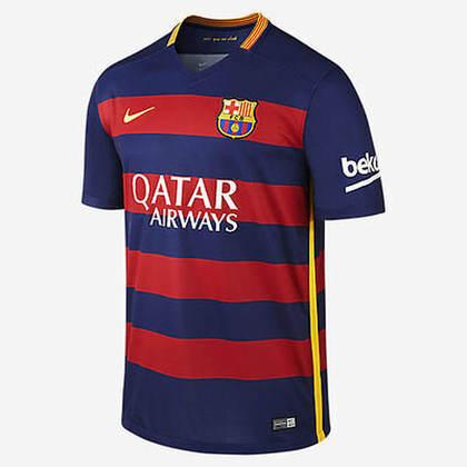 Camisa do Barcelona temporada 2015/2016