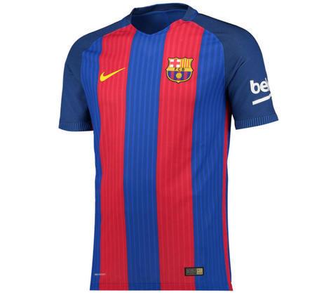 Camisa do Barcelona temporada 2016/2017
