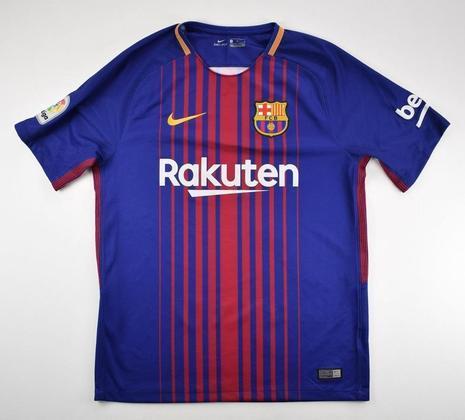 Camisa do Barcelona temporada 2017/2018