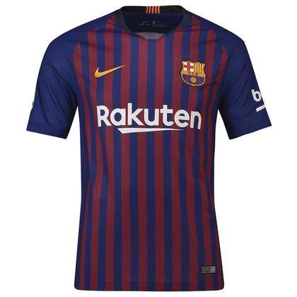 Camisa do Barcelona temporada 2018/2019