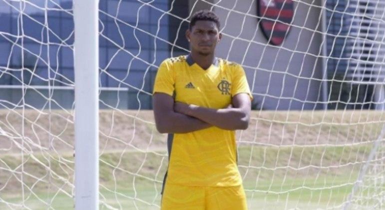 Camisa goleiro Flamengo