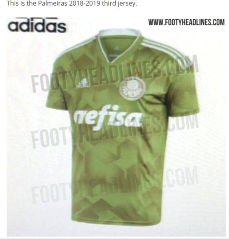 7cf6d81dba Suposta 3ª camisa do Palmeiras vaza na internet e gera polêmica - Esportes  - R7 Futebol