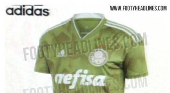 Suposta 3ª camisa do Palmeiras vaza na internet e gera polêmica ... 0473bd13141