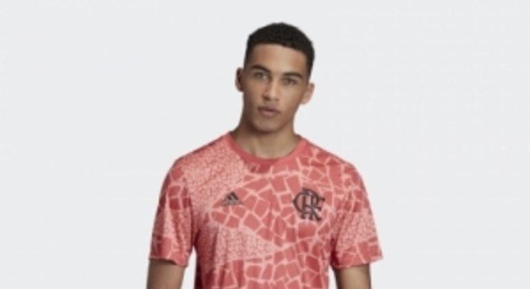 Camisa pré-jogo do Flamengo