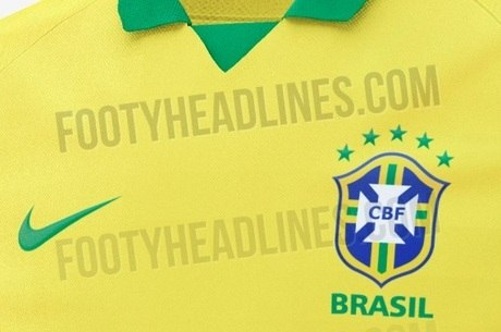 a0c5e930c7 Site vaza camisa que será usada pela seleção brasileira em 2019 ...