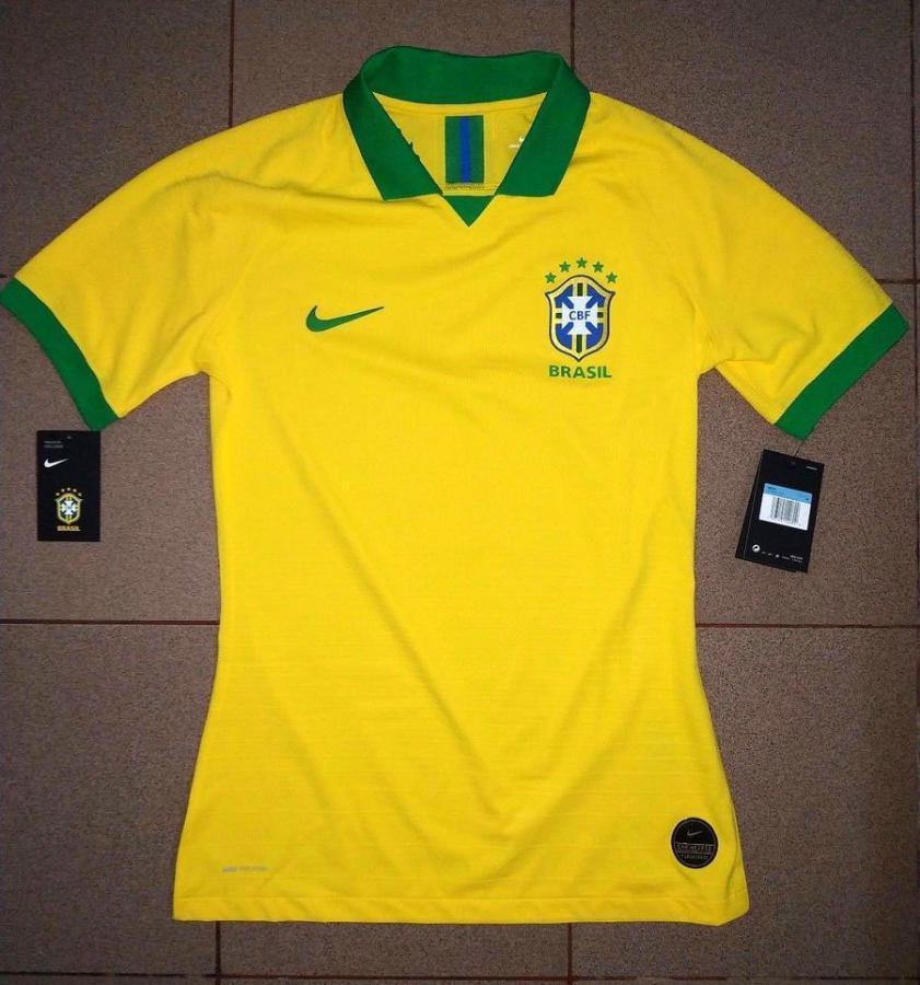 ef0cf39ced Provável camisa 1 da seleção para Copa América tem fotos reveladas -  Esportes - R7 Lance
