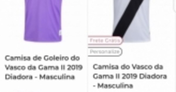 57cdced5e2 Camisa do Vasco esgota ao ser vendida com preço errado - Esportes - R7 Lance