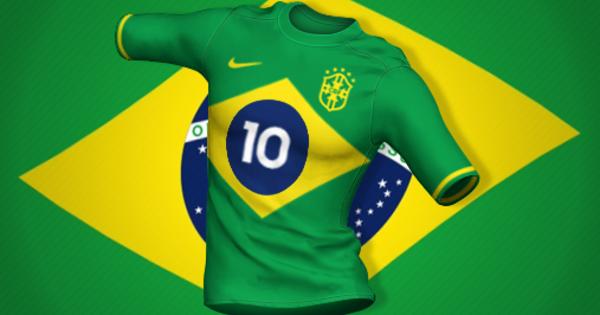 E se as camisas das seleções fossem inspiradas nas bandeiras dos países?