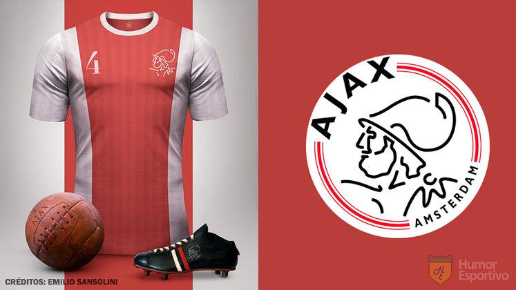 Camisas clássicas do futebol: Ajax