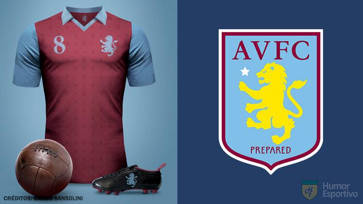 Camisas clássicas do futebol: Aston Villa
