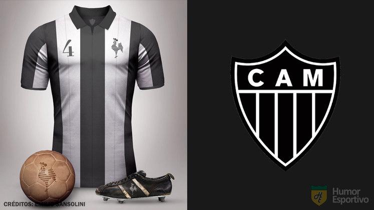 Camisas clássicas do futebol: Atletico Mineiro