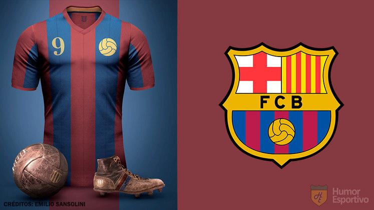 Camisas clássicas do futebol: Barcelona